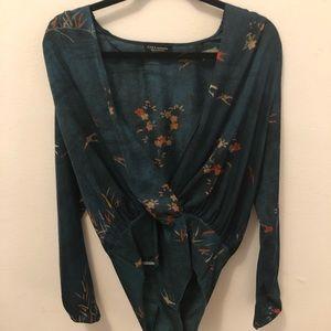 Bodysuit from Zara